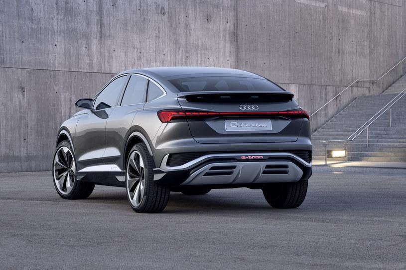 Audi Q4 Sportback e-tron concept /