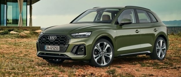 Audi Q5 po face liftingu