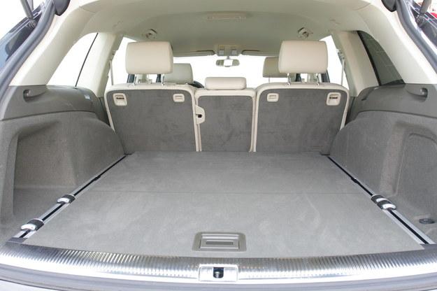 audi q7 bagażnik /Motor