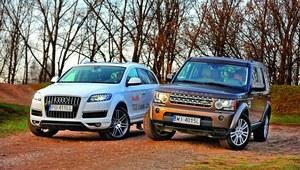 Audi Q7, Land Rover Discovery 4 - porównanie