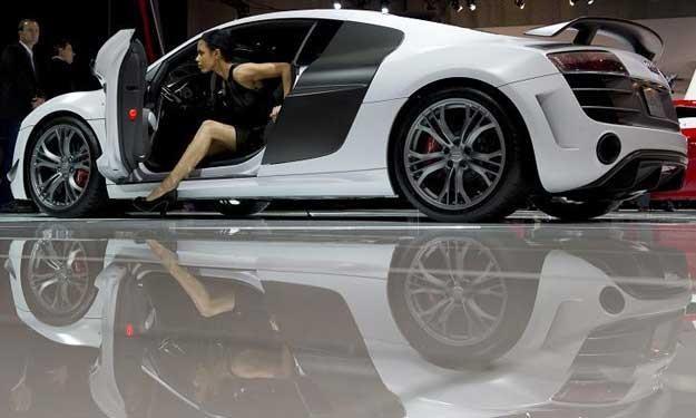 Audi R8 na wystawie w Nowym Jorku /AFP