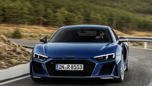 Audi R8 po face liftingu