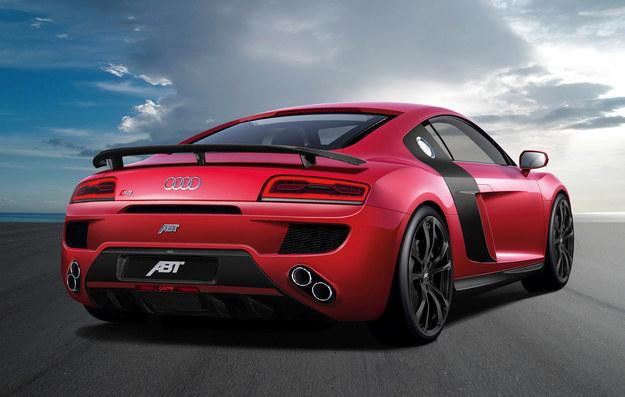 Audi R8 V10 po tuningu ABT /ABT Sportsline GmbH