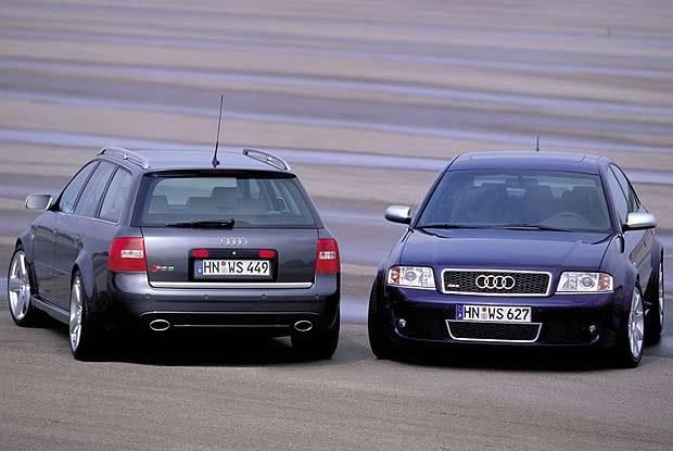 Audi RS 6 sedan i Avant (kliknij) /INTERIA.PL