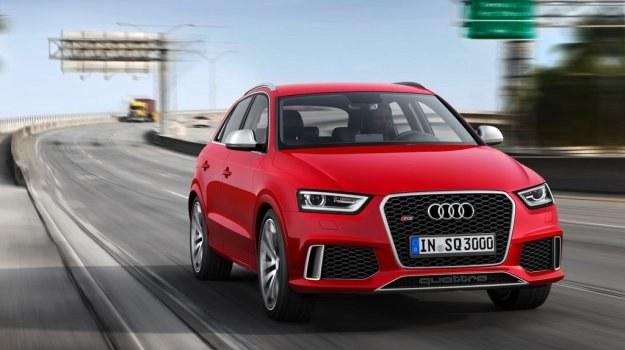 Audi RS Q3 waży 1730 kg. /Audi