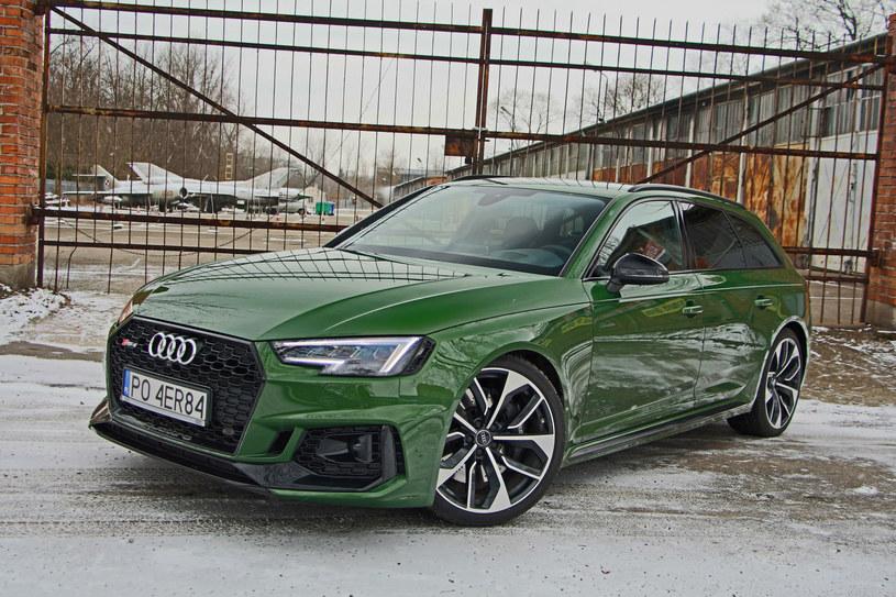Audi RS4 Avant /INTERIA.PL