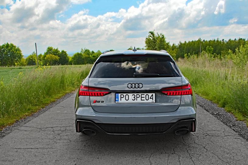 Audi RS6 Avant /INTERIA.PL