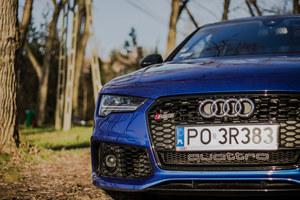 Audi RS7. Jeżeli kogoś bardzo nie lubicie, zaproście go na przejażdżkę tym autem