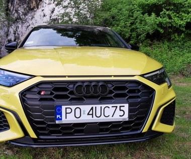 Audi S3 Sportback edition one TFSI quattro. Nasz test