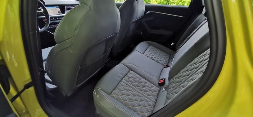 Audi S3 Sportback edition one TFSI quattro /INTERIA.PL