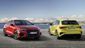 Audi S3 Sportback i Sedan zaprezentowane