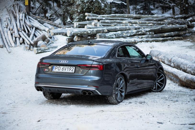 Audi S5 /INTERIA.PL