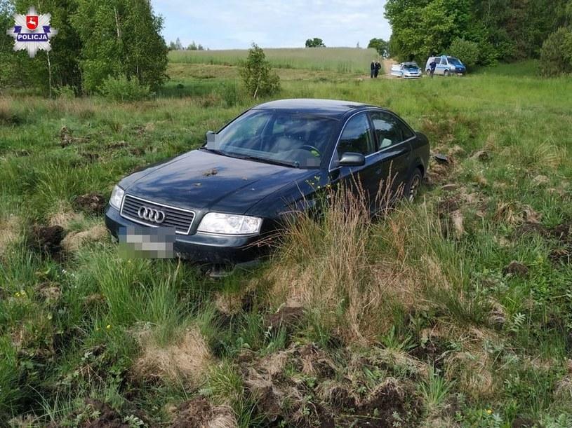 Audi to nie Ursus... /Policja