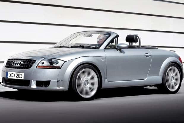 Audi TT Roadster V6 3.2 quattro (kliknij) /INTERIA.PL