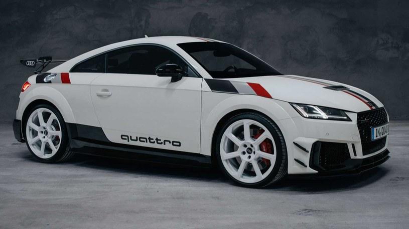 Audi TT RS 40 years of quattro /