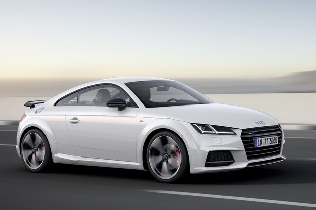 Audi TT S line competition /INTERIA.PL