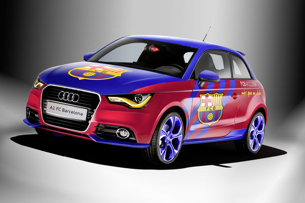Audi w barwach Barcelony /INTERIA.PL