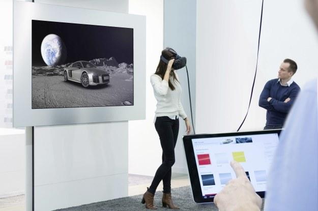 Audi Walking xperience to zaawansowany technicznie zestaw VR /INTERIA.PL/informacje prasowe