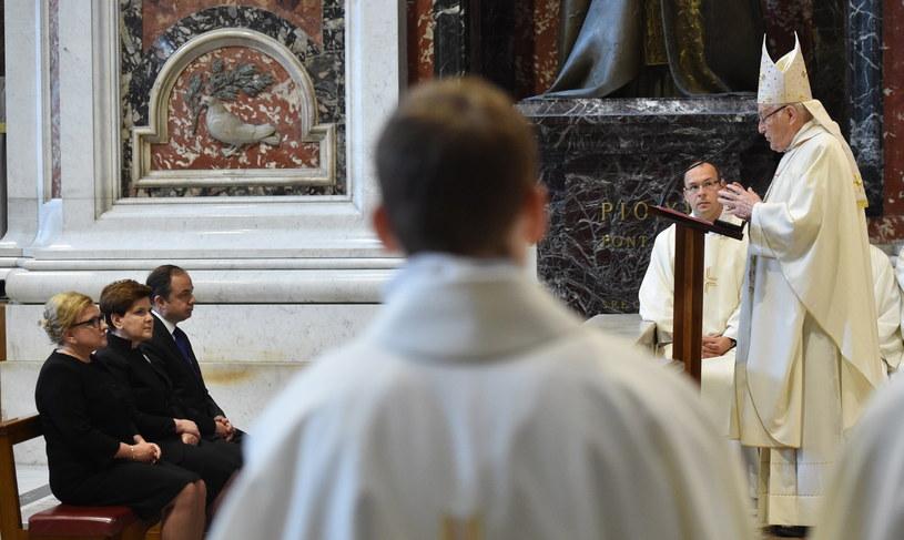 Audiencja premier Szydło u papieżą Franciszka /PAP