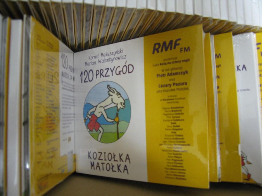 Audiobooki trafiły do dzieci, które spędzają swoje święto w szpitalu /Maciej Nycz /RMF FM