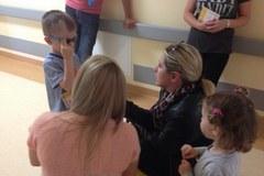 Audiobooki z bajką o Królewnie Śnieżce od RMF FM dotarły do małych pacjentów Szpitala Dziecięcego