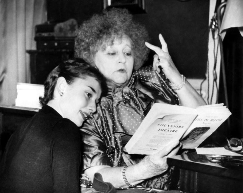 Audrey Hepburn i Colette /Everett Collection /East News
