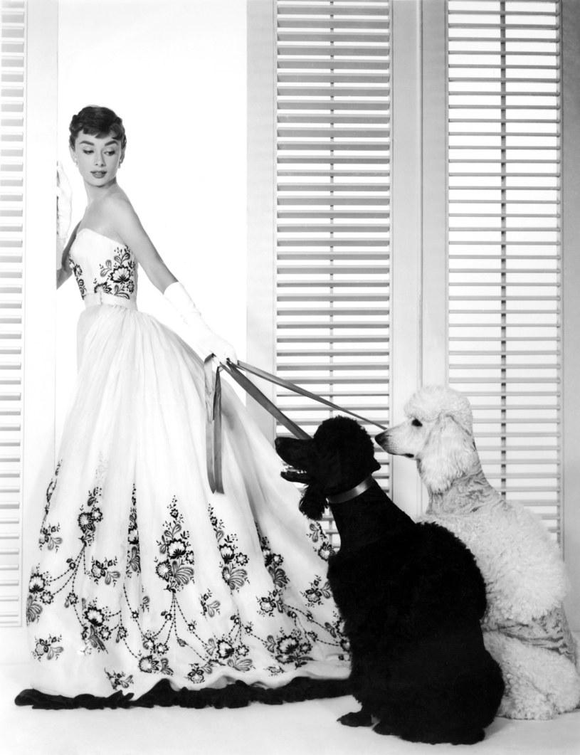 "Audrey Hepburn w filmie ""Sabrina"" /East News"