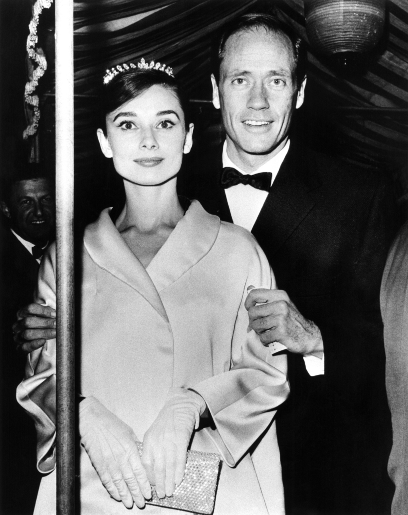 Audrey Hepburn z pierwszym mężem Melem Ferrerem /Everett Collection /East News