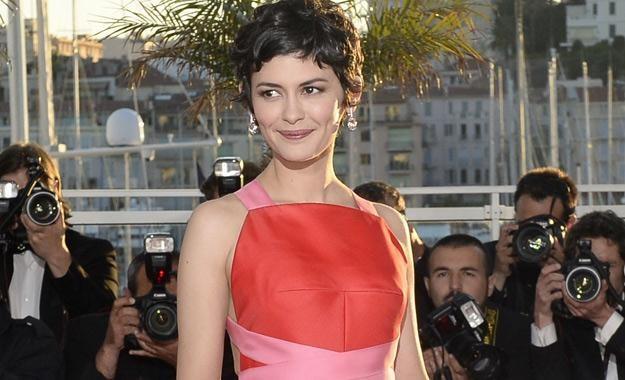 Audrey Tautou na tegorocznym festiwalu w Cannes /AFP