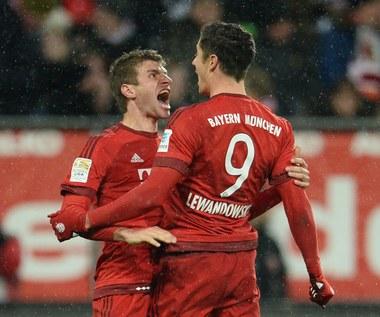 Augsburg - Bayern Monachium 1-3. Lewandowski z dubletem