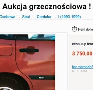 aukcja grzecznościowa /Motor