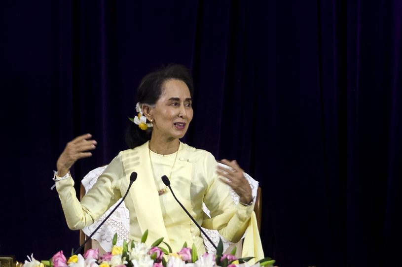 Aung San Suu Kyi /YE AUNG THU /AFP