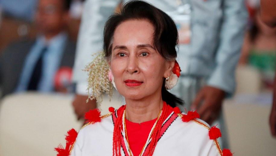 Aung San Suu Kyi /NYEIN CHAN NAING  /PAP/EPA