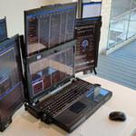 Aurora 7 – laptop wyposażony w siedem składanych wyświetlaczy