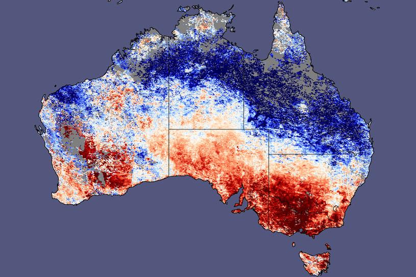 Australia może doświadczyć najmroźniejszej zimy w historii /NASA