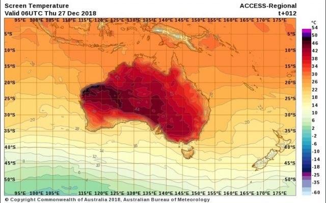 Australia zmaga się z falą upałów /materiały prasowe