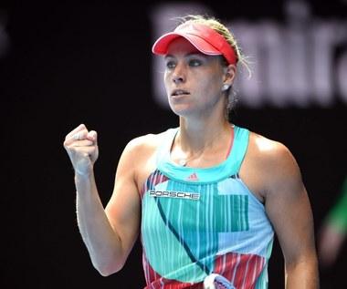 Australian Open. Angelique Kerber pierwszy raz w finale turnieju Wielkiego Szlema