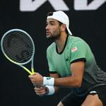 Australian Open. Berrettini się wycofał, Tsitsipas bez gry w ćwierćfinale