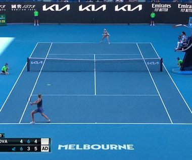 Australian Open. Brady po raz pierwszy zagra w finale. Wygrała z Muchovą - skrót. Wideo