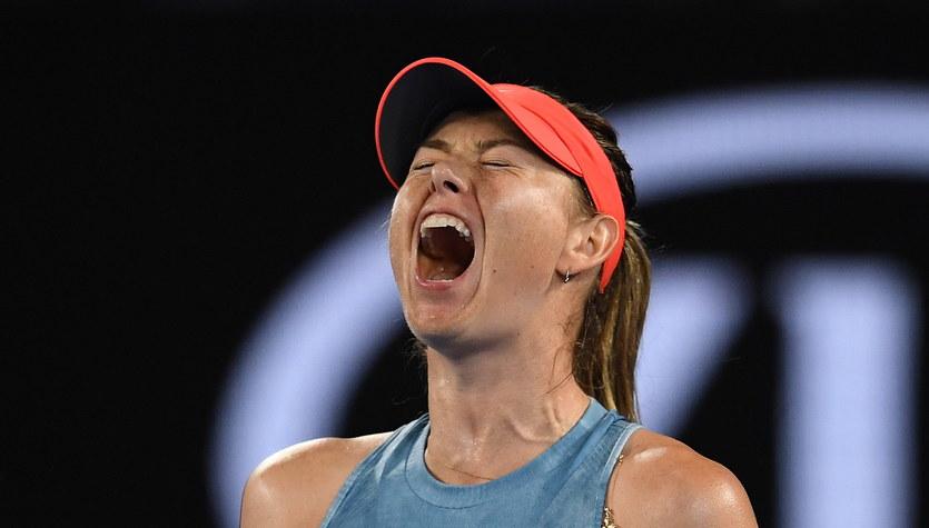 Australian Open. Broniąca tytułu Wozniacki przegrała z Szarapową