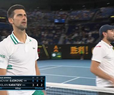 Australian Open. Djoković pokonał Karacjewa i awansował do finału - skrót. Wideo
