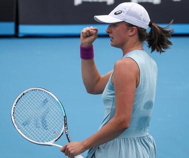 Australian Open. Iga Świątek – Arantxa Rus 6:1, 6:3 w I rundzie