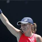 Australian Open: Iga Świątek awansowała do czwartej rundy