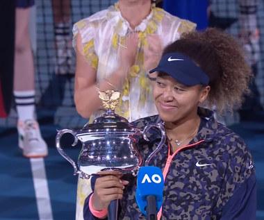 Australian Open. Osaka wygrała turniej kobiet. Wideo