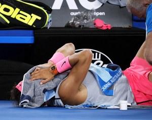 Australian Open. Rafael Nadal skreczował w ćwierćfinale