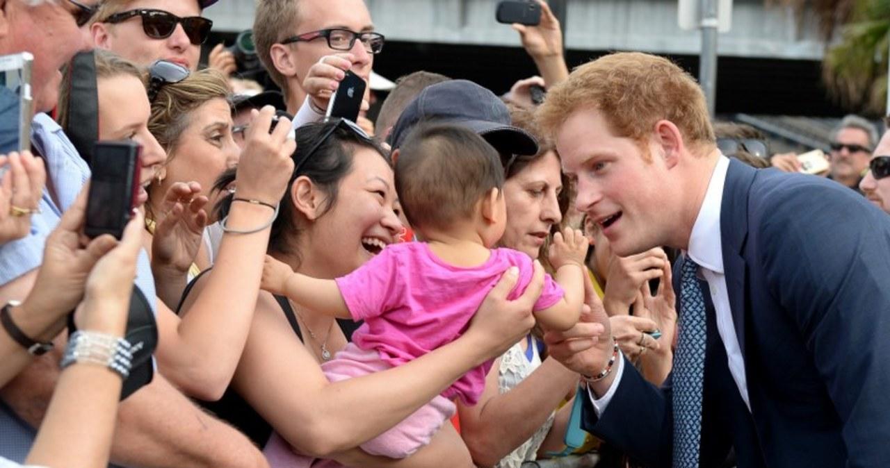 Australijczycy kochają Harry'ego. Harry kocha…dzieci