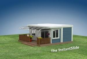 Australijczycy mają mobilne domki, które budują się same