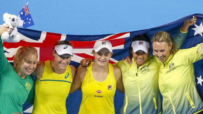 Australijki świętują awans do finału /AFP