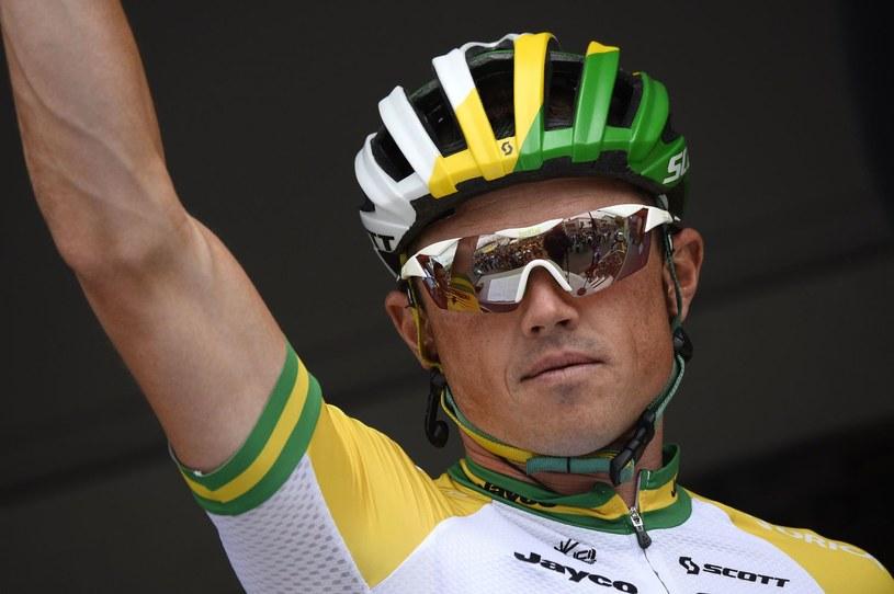 Australijski kolarz Simon Gerrans /AFP