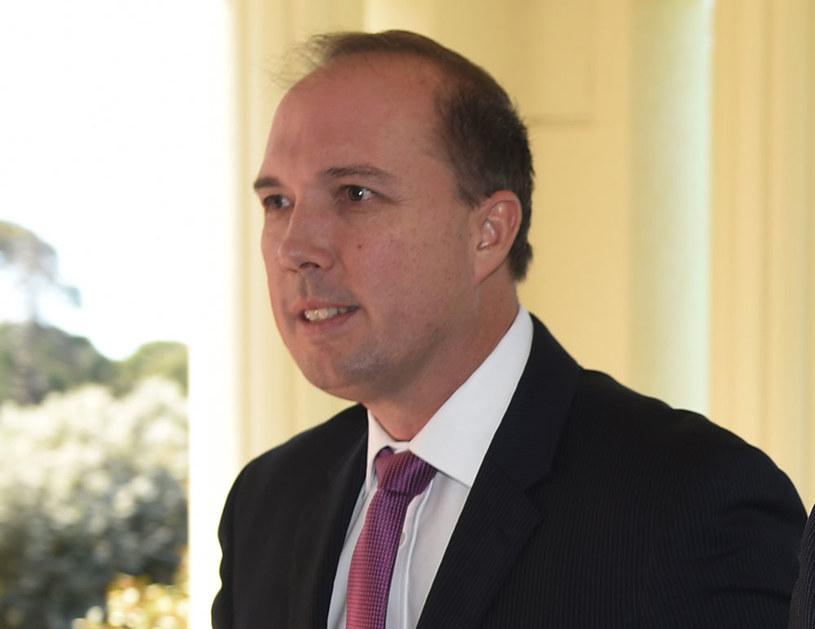 Australijski minister ds. imigracji i ochrony granic Peter Dutton /PETER PARKS /AFP